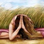 Namaste Yoga Art Print